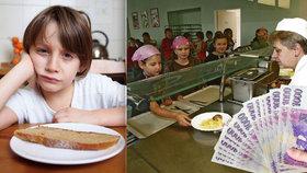 Tisíce sociálně slabých dostávají obědy zdarma. (ilustrační foto)