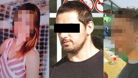 Daniela (16) a Janu (13) unesl Zdeněk H.