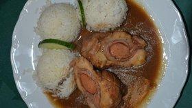 Ukázka jídla z bufetu Poslanecké sněmovny