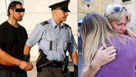 Policajti by nás nechal v té garáži umřít, nesnáším je! Píše unesená Jana na Facebooku.
