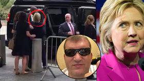 Kdo je Čech, který natočil kolaps Hillary Clintonové?