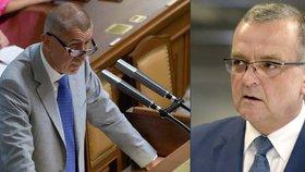 """Andrej Babiš se projednávání """"Anti-Babiše"""" nezúčastnil. Nechtěl prý poslouchat Kalouska."""