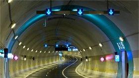 Tunelový komplex Blanka slouží řidičům už rok.