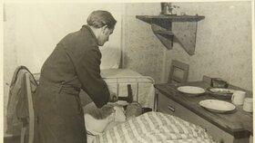 Snímky, které se vztahují k vyšetřování vraždy Antonína Janků dvojicí Mizerovská-Lang, přetiskujeme z Okresního archivu v Liberci i s původními vysvětlivkami.