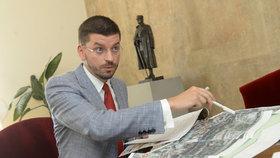 Ředitel Sekce administrativní KPR Jan Novák