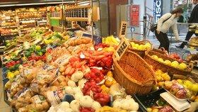 Různé druhy ovoce a zeleniny mají různé stopy pesticidů.