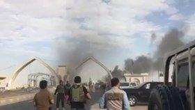 Sebevražedný útok v Bagdádu si vyžádal nejméně 12 mrtvých.