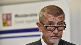 Vicepremiér a ministr financí Andrej Babiš