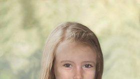 Takto by Madeleine vypadala v devíti letech.
