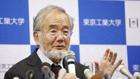 Nobelovu cenu za lékařství dostal Japonec Jošinori Ósumi.