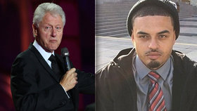 Danney Williams tvrdí, že jeho otcem je Bill Clinton.