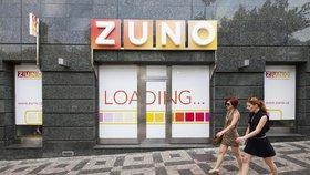 Pobočka Zuno Bank na Václavském náměstí v Praze