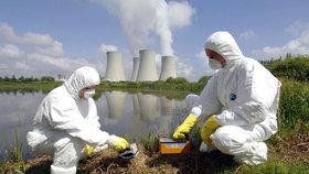 Cvičení v areálu jaderné elektrárny Temelín