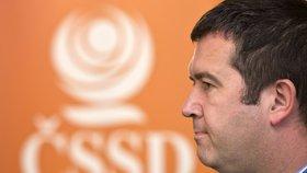 Jan Hamáček chce pomoci ČSSD, uchází se o post předsedy.