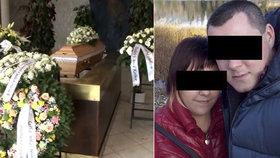 Alexandru, kterou zavraždil snoubenec, pohřbili.