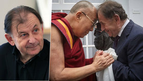 Michael Žantovský kritizuje přijetí dalajlámy v Česku. Je to podle něj ostuda a vrcholní politici tím Česku škodí.