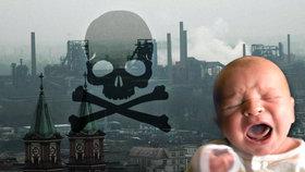 Škodliviny v ovzduší ničí DNA novorozenců.