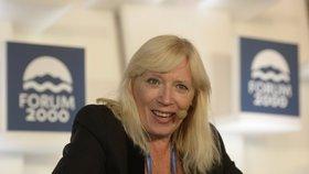 Slovenská expremiérka Iveta Radičová byla hostem jubilejní 20. konference Forum 2000.