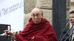Dalajlama v Praze