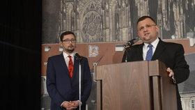 Tiskovka na Hradě: Jiří Ovčáček a Jindřich Forejt