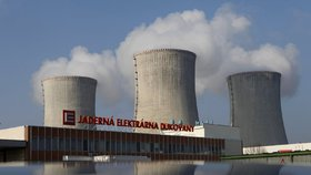 Vláda jedná o dostavění bloků jaderné elektrárny v Dukovanech