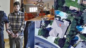 Rozlehlá luxusní vila na severozápadním předměstí Roseville, města nedaleko kalifornského Sacramenta. Zde žil s rodiči Kevin Peter Dahlgren (23), obžalovaný v Česku z čtyřnásobné vraždy na rodině Harokových z Brna. Dům v Roseville má čtyři ložnice, dvě koupelny, rozlohu 2 672 čtverečních stop a jeho cena je zhruba 572 000 dolarů (13 842 400 Kč).