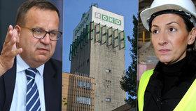 Ministr průmyslu Jan Mládek (ČSSD) a opoziční politička Alexandra Udženija (ODS) se vyjádřili k problémům OKD.
