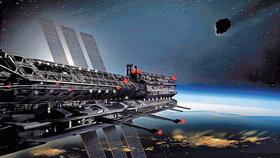 Vesmírná stanice (ilustrační foto)