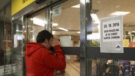 Obchody s prodejní plochou nad 200 metrů musí mít zavřeno také 28. října