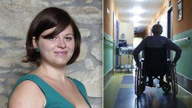 """Martina o životě handicapovaných: """"Někteří neví, jak se k nám chovat""""."""
