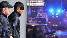Tohle je migrant, který podle policie znásilnil zdravotní sestřičku v nemocnici Na Bulovce.