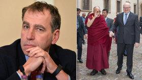 Luděk Niedermayer se v rozhovoru pro Blesk.cz pozastavil nad kauzou dalajlama i obchody s Čínou.