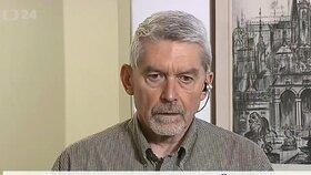 Advokát Zdeněk Altner při komentáři ohledně sporu s ČSSD v České televizi