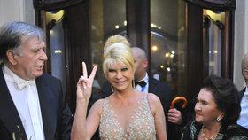 Trumpova bývalá manželka a matka Erica Ivana Trumpová.