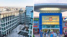 Obchodní centrum Letňany a Florentinum mění majitele.