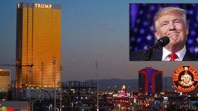 "Trumpův ""zlatý"" hotel v Las Vegas"