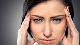 Bolest hlavy má nejrůznější důvody.