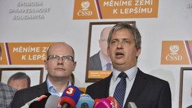 Jiří Dienstbier ještě coby ministr pro lidská práva
