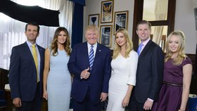Trumpova rodina
