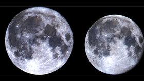 Měsíc bude k Zemi o 27 891 kilometrů blíže, než je obvyklé.