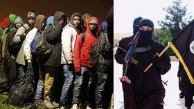 Mezi uprchlíky jsou prý stovky aktivních členů ISIS.