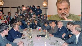 Bývalý šéf svazáků Vasil Mohorita: Sametovou revoluci, Havla i privatizaci připravila Moskva