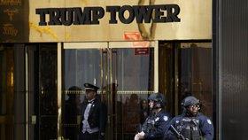 Trump Tower je nyní jedním z nejstřeženějších míst na světě.