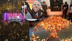 """Zeman oslaví 17. listopad v """"papučích"""", Halík na Václaváku. A co bude dál?"""