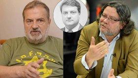 Vasil Mohorita vs. Alexandr Vondra: V listopadu 1989 i dnes zastávají opačné pozice.