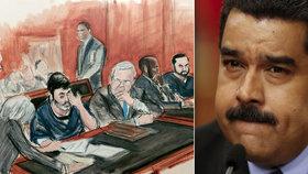 Soud rozhodl: Synovci venezuelské první dámy pašovali drogy.