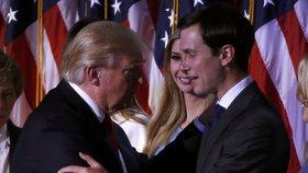 Jared Kushner se svým tchánem Donaldem Trumpem