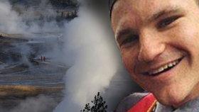Turista spadl do kyselého pramene v Yellowstonu, jeho tělo se rozpustilo.