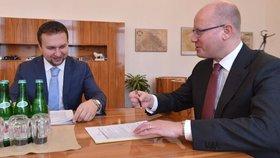 Ministr Jurečka projednával situaci v zemědělství s premiérem Sobotkou.