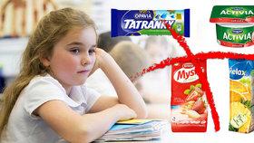 Pokud jídlo překračuje limity, do škol nesmí.